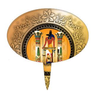 Anubis, egypt cake picks