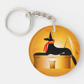 Anubis, Egyptian god Acrylic Key Chains