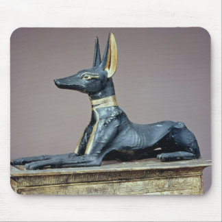 Anubis, Egyptian god of the dead from a chest Mouse Pad