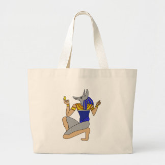 Anubis Large Tote Bag