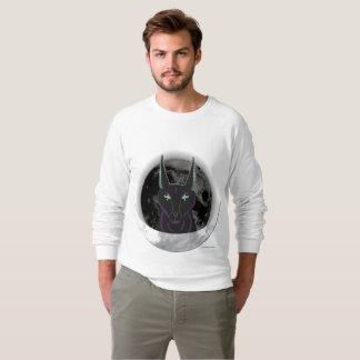 Anubis Moon Men's Raglan Sweatshirt