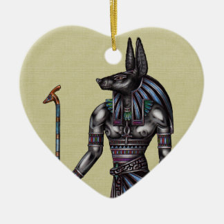 Anubis Ornament Heart