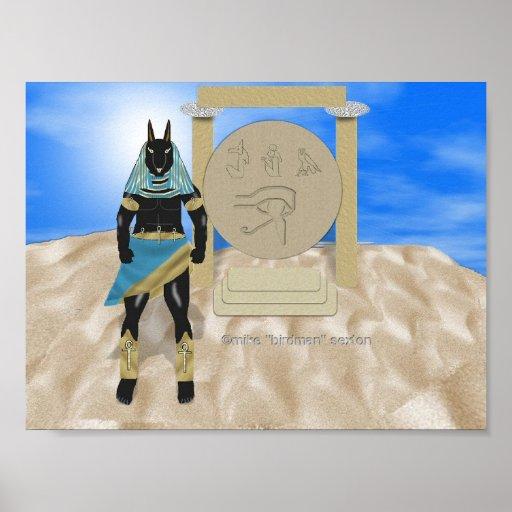 Anubis' Shrine Posters