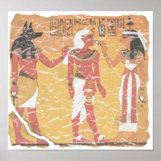 Anubis, Tut, Osiris Poster