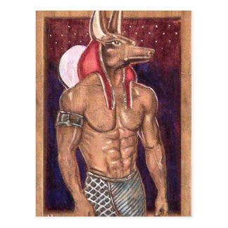 Anubis: www.AriesArtist.com Postcard