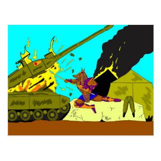 Anubis's revenge postcard