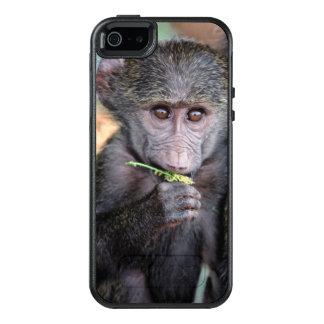 Anubus Baboon (Lake Manyara Nat. Park Tanzania) OtterBox iPhone 5/5s/SE Case