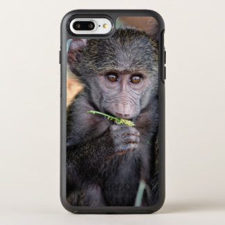 Anubus Baboon (Lake Manyara Nat. Park Tanzania) OtterBox Symmetry iPhone 7 Plus Case