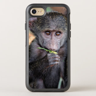 Anubus Baboon (Lake Manyara Nat. Park Tanzania) OtterBox Symmetry iPhone 8/7 Case