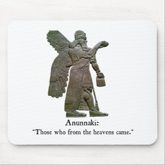 Anunnaki Ancient Aliens Mouse Mat