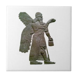 Anunnuki Ancient Sumerian Alien Extraterrestrial Tile