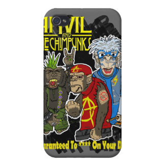 Anvil and the Chimpunks iPhone 4 Cases