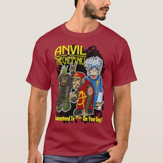 Anvil and the Chimpunks T-Shirt