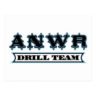 ANWR Drill Team Postcards
