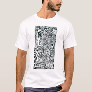 Anxiety Attack by Brian Benson T-Shirt