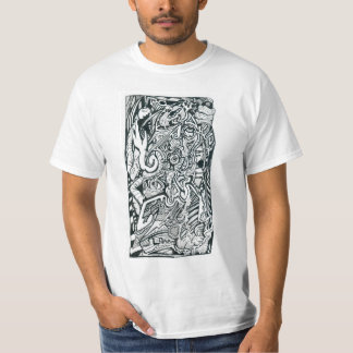 Anxiety Attack by Brian Benson Tshirt