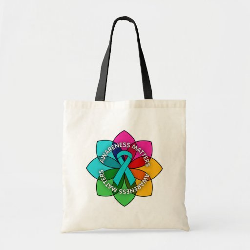 Anxiety Disorder Awareness Matters Petals Bags