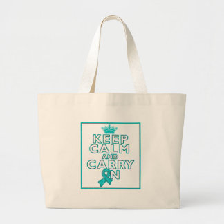 Anxiety Disorder Keep Calm and Carry ON Canvas Bags