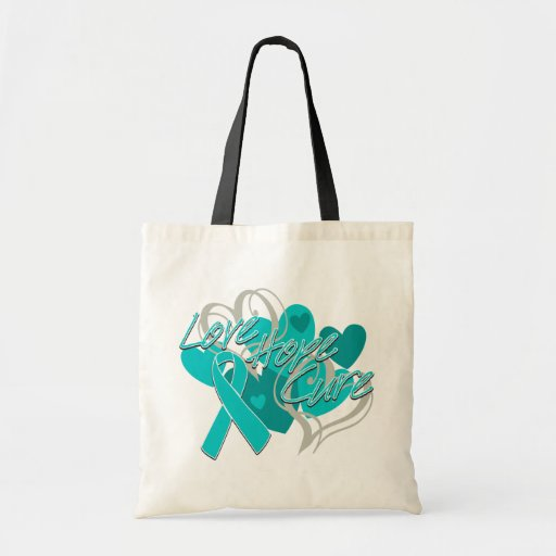 Anxiety Disorder Love Hope Cure Canvas Bags