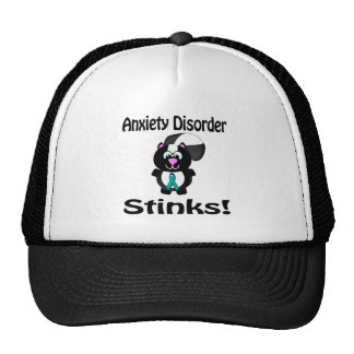 Anxiety Disorder Stinks Skunk Awareness Design Trucker Hat