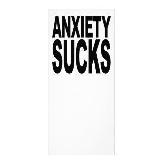 Anxiety Sucks Customized Rack Card