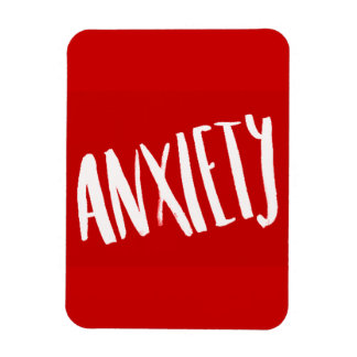 ANXIETY WORRY FEELINGS TROUBLED EMO STRESS MAGNET
