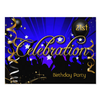 Any Age Birthday Party Celebration Teens or Adults Card