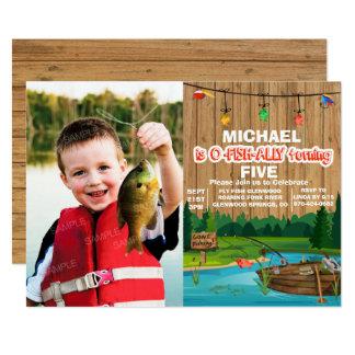 ANY AGE - Gone Fishing Birthday Invitation