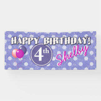 Any Age Polka Dot Birthday 1