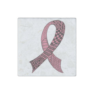 Any Color Cause Awareness Ribbons Stone Magnet
