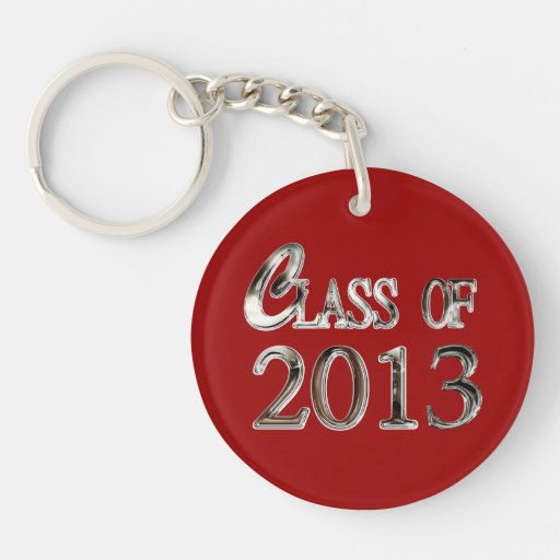 Any Color Class Of 2013 Keychain