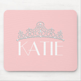 Any Color Personalized Tiara Mouse Mat