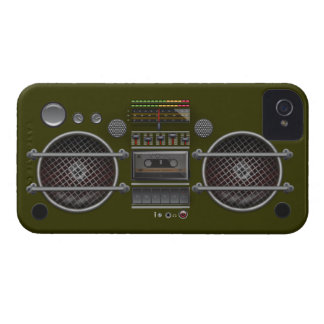 Any Color Vintage Ghetto Blaster Blackberry Case