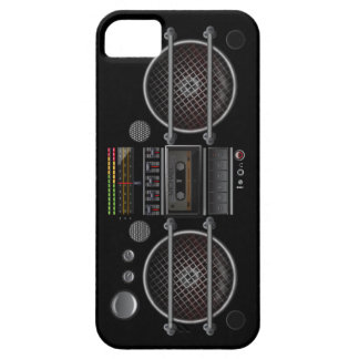 Any Color Vintage Ghetto Blaster Boombox Barely There iPhone 5 Case