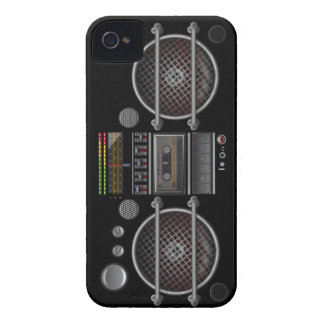 Any Color Vintage Ghetto Blaster iPhone 4 Case
