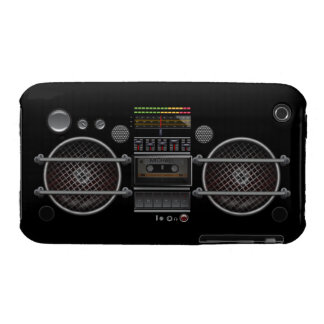 Any Color Vintage Ghetto Blaster iPhone 3 Case iPhone 3 Covers