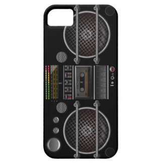 Any Color Vintage Ghetto Blaster iPhone 5 Case