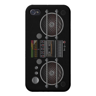 Any Color Vintage Music  Ghetto Blaster iPhone 4 C iPhone 4 Case