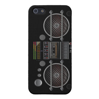 Any Color Vintage Music  Ghetto Blaster iPhone 5 iPhone 5 Cases