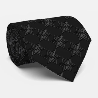 Any Color with Black Star of David Pattern Tie