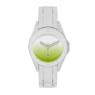 Any Color with Green Gradient Wristwatches