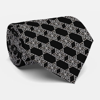 Any Color with Silver Star of David Pattern Tie