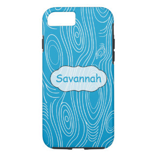 Any Color Woodgrain Pattern Personalized iPhone iPhone 7 Case
