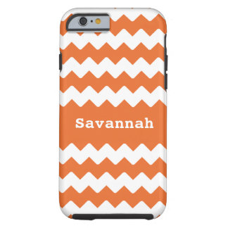 Any Color ZigZag Pattern Personalized iPhone Tough iPhone 6 Case
