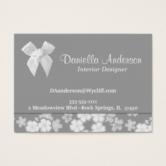 Any Colour Background Business Card