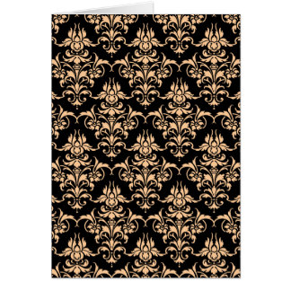 Any Colour Damask Card
