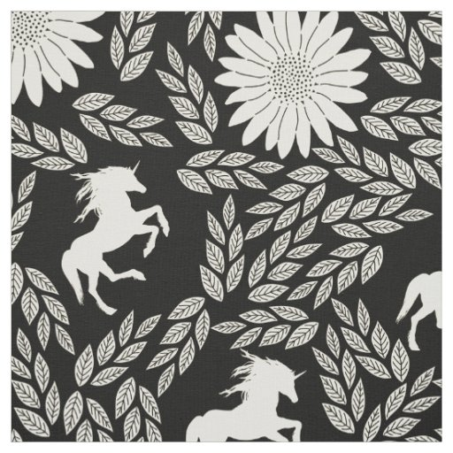 Any Colour shows as Black Ivory Unicorn Floral