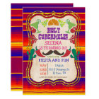 ANY EVENT - Mexican Fiesta Party Invitation