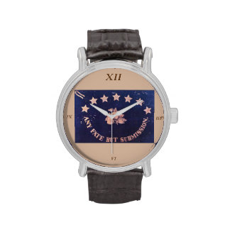 Any Fate But Submission Regimental Flag Wristwatch