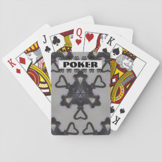 Any Game Black and Grey Symbol Playing Cards